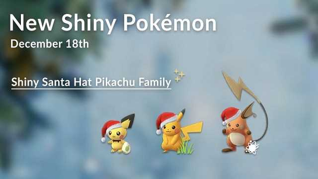 Niantic Is Celebrating With Plenty Of Fun Releases This Christmas In POKÉMON GO