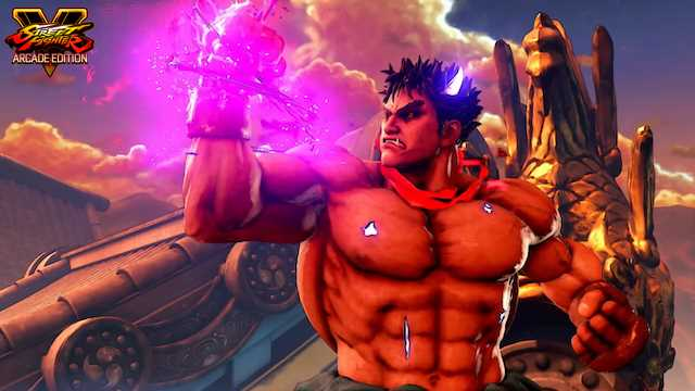 Check Out This Unused Concept Art For Street Fighter V Arcade