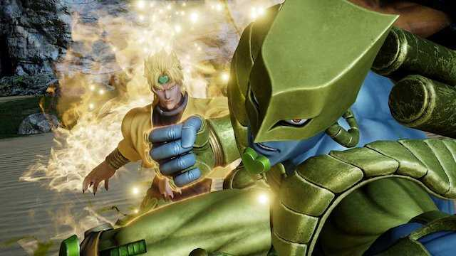 Check Out This Gameplay Video For JOJO'S BIZARRE ADVENTURE's Jotaro And Dio  In JUMP FORCE