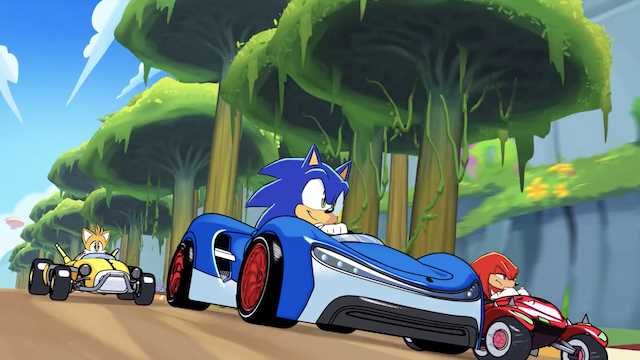 TEAM SONIC RACING Gets Animated Mini Series In The Form Of TEAM ...