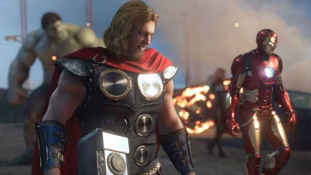 Marvel's The Avengers Is Thundering Its Way To EGX 2019