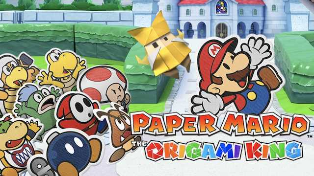 New Paper Mario: The Origami King Trailer Reveals Companion Characters And More