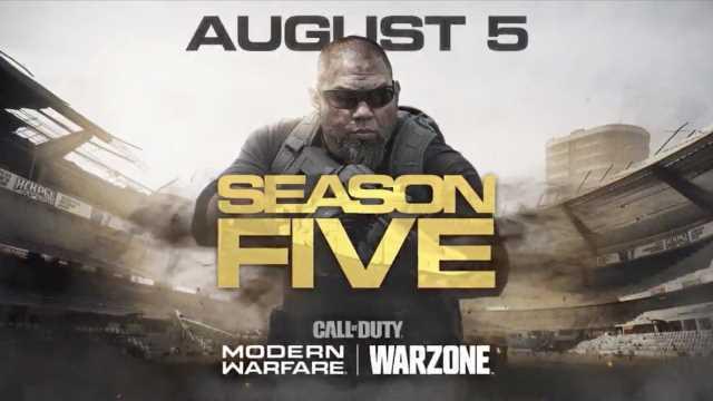 Call Of Duty Modern Warfare Warzone Season 5 Trailer Released