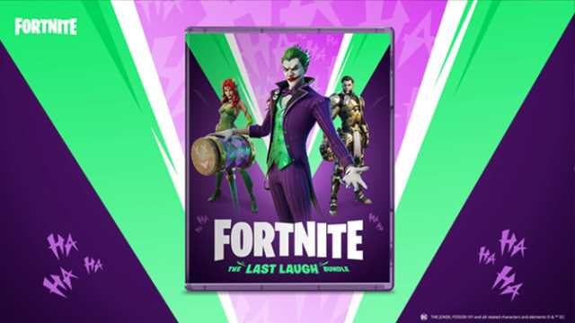 Fortnite gets new skin bundle featuring DC's Joker and Poison Ivy