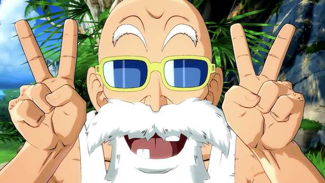 Master Roshi Officially Joins the DRAGON BALL FighterZ Brawl on September 18th!