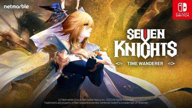 SEVEN KNIGHTS - TIME WANDERER -: Netmarble's First Console Game Has Launched Its Website