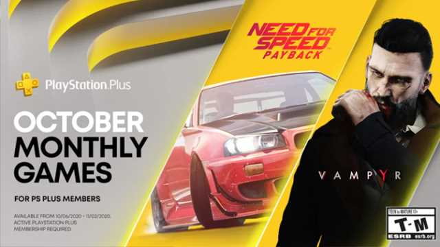Paced Racing and Supernatural Action Await in October 2020's PlayStation Plus Haul
