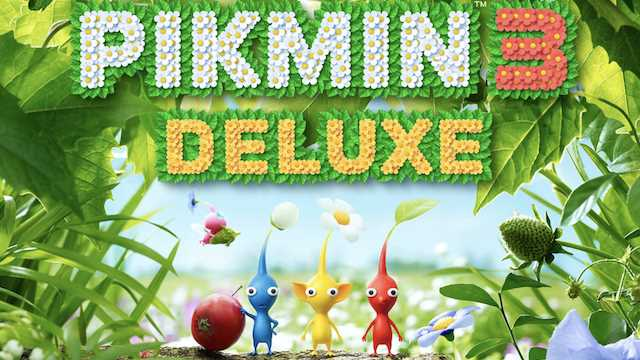 Pikmin 3 Deluxe gets a demo