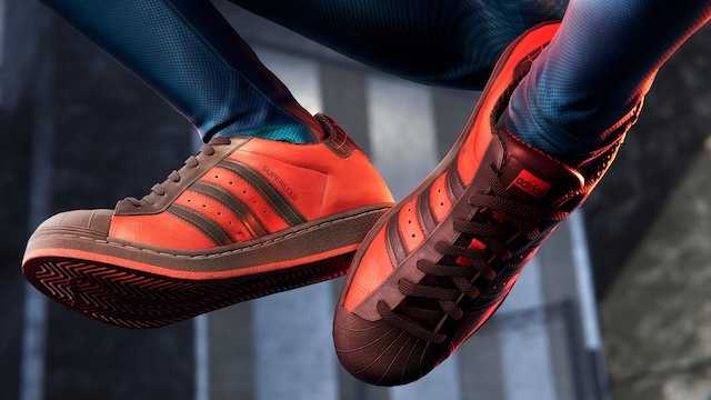 MARVEL'S SPIDER-MAN: MILES MORALES - Check Out The Special Miles Morales Superstar Sneakers From Adidas