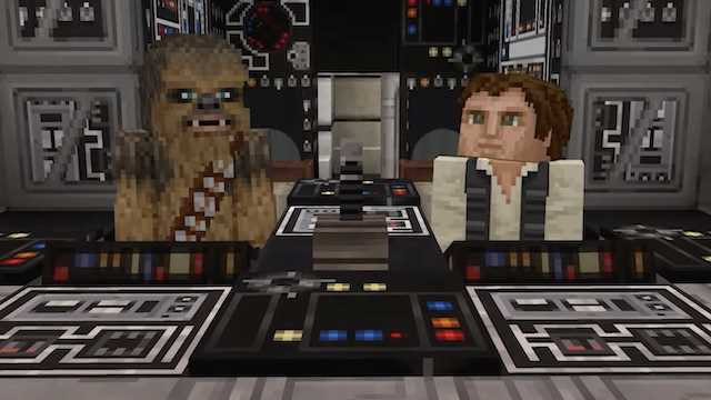 MINECRAFT: Mojang Studios Reveals That STAR WARS Content Has Just Become Available In The Marketplace