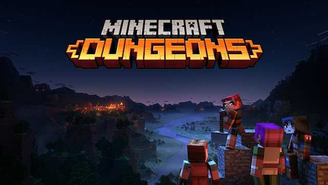 MINECRAFT DUNGEONS Finally Gets Cross-Platform Multiplayer Play; Cloud Saving Also Announced