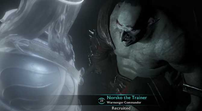 MIDDLE EARTH: SHADOW OF MORDOR's Nemesis System Successfully Patented By Warner Bros.