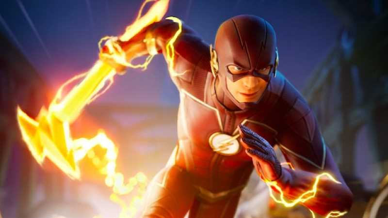 DC's THE FLASH Outfit Drops Into FORTNITE Tomorrow
