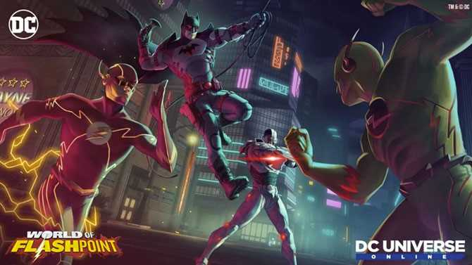 DC UNIVERSE ONLINE World Of Flashpoint Free Expansion Arrives April 15
