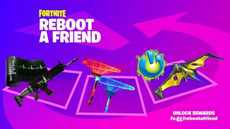 FORTNITE Launches New Reboot A Friend Program; Invite Players & Earn Rewards