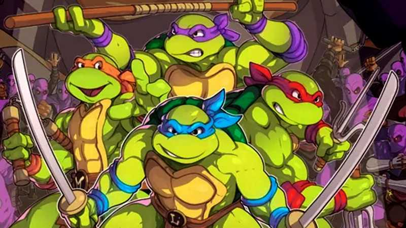 New TEENAGE MUTANT NINJA TURTLES Game Coming To Nintendo Switch!