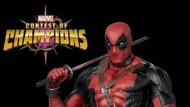 MARVEL CONTEST OF CHAMPIONS Teams Up With Premium Collectible Studios For A Deadpool Figure Raffle