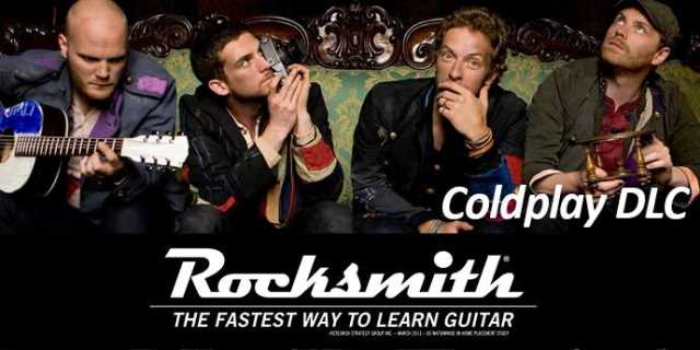 COLDPLAY DLC Song Pack Has Hit For ROCKSMITH 2014 EDITION REMASTERED