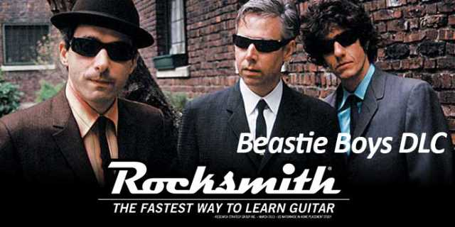 BEASTIE BOYS DLC Hits For ROCKSMITH 2014 EDITION REMASTERED