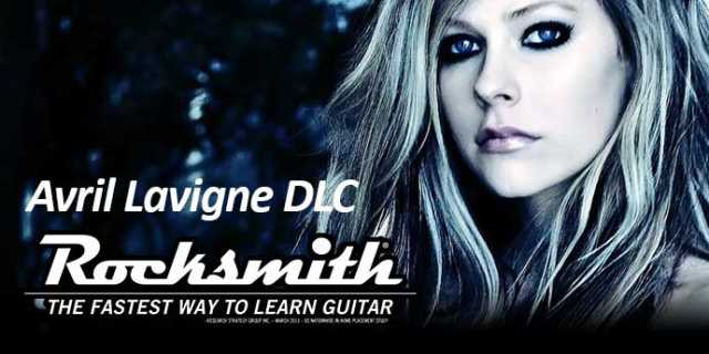 Avril Lavigne Makes Her ROCKSMITH Debut With New 5-Song DLC Pack