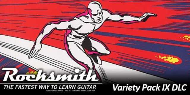 Satriani's SURFING WITH THE ALIEN Hits With Variety Pack IX DLC For ROCKSMITH 2014 EDITION REMASTERED