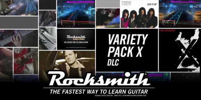 KISS And PANTERA Land In ROCKSMITH 2014 EDITION REMASTERED Variety Pack X DLC