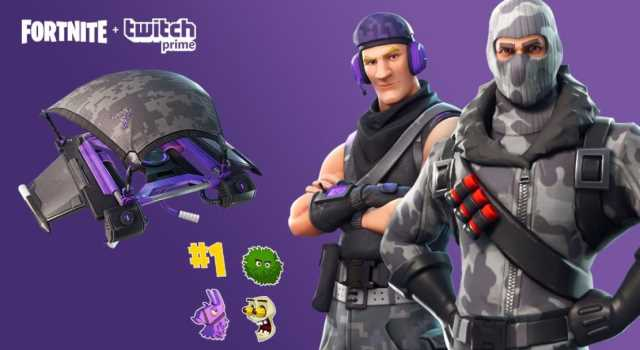 FORTNITE Twitch Prime Pack Brings Two Free Outfits And Gliders For Battle Royale