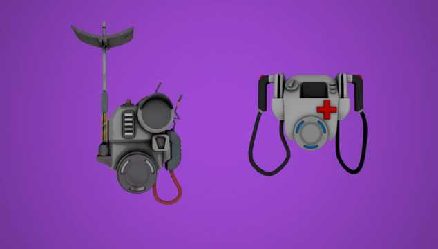 FORTNITE BATTLE ROYALE: Intel and Medic Packs Discovered In