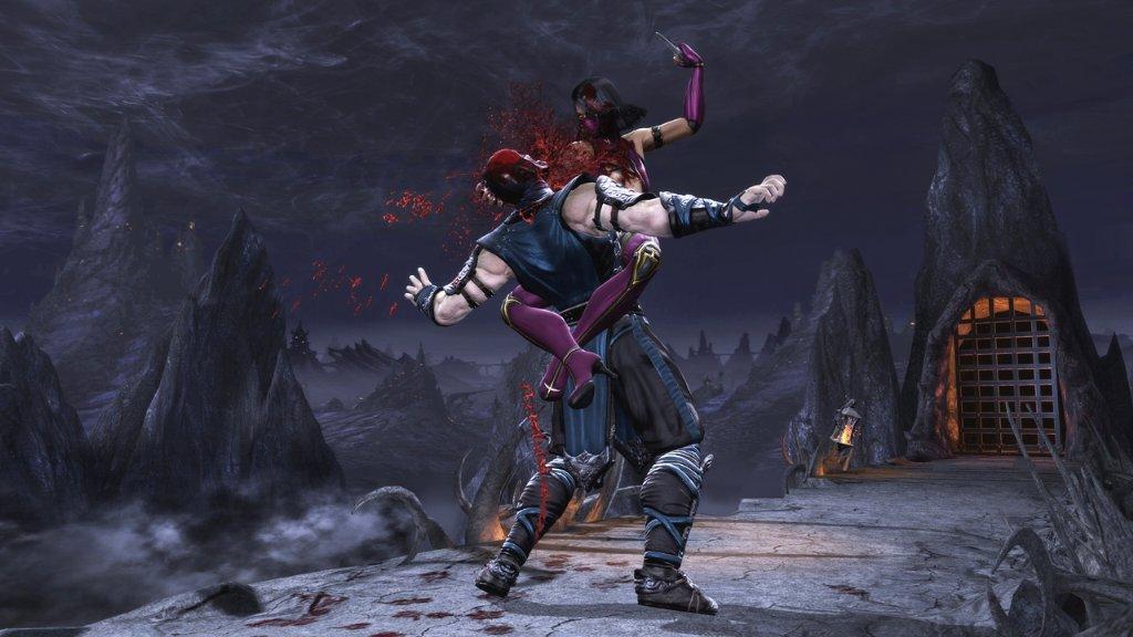 Mortal Kombat Mortal Kombat Screenshot - Mileena vs Scorpion