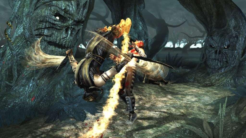 Mortal Kombat Mortal Kombat Screenshot - Scorpion vs Johnny