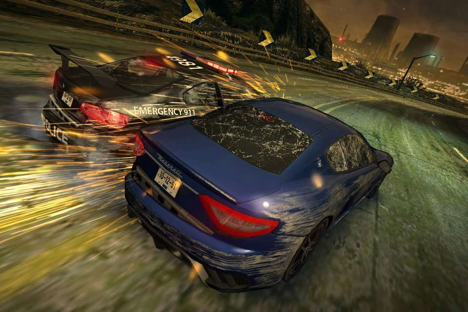 Need For Speed Most Wanted iOS Screenshot 1