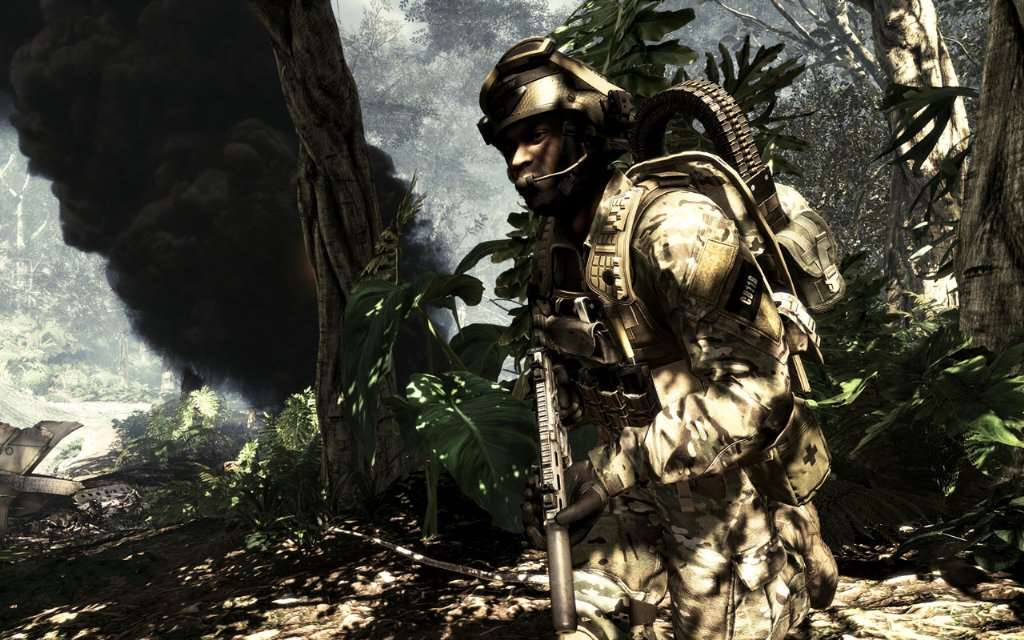 "Call of Duty: Ghosts Screenshot - ""Burning"""