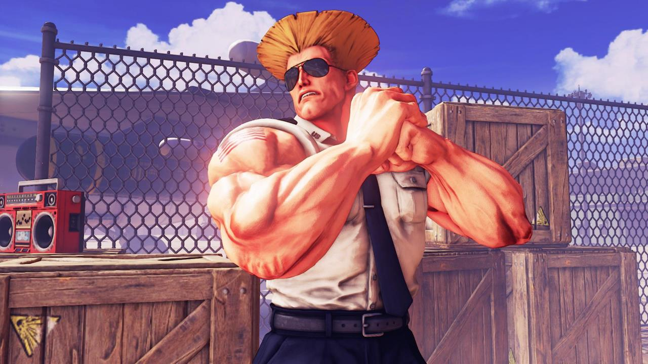 Check Out This All New Street Fighter V Guile Intro Trailer