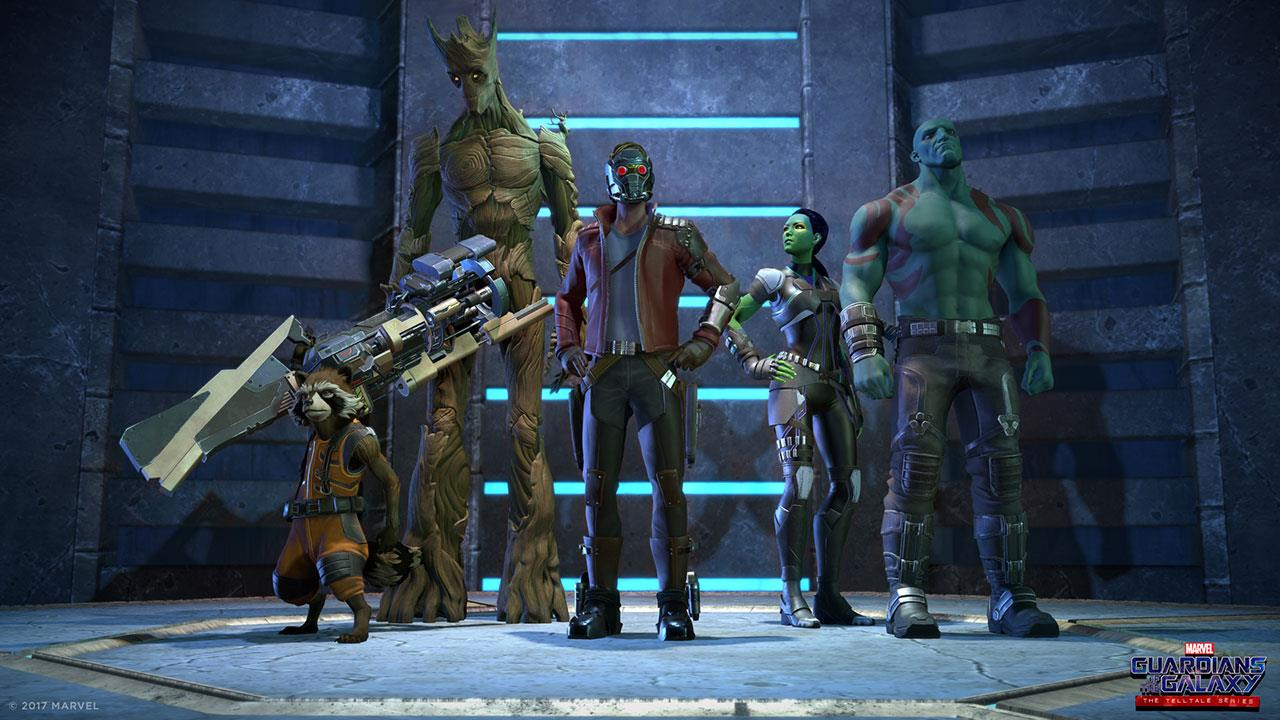 GUARDIANS OF THE GALAXY - Telltale Image  2 (The Gang)