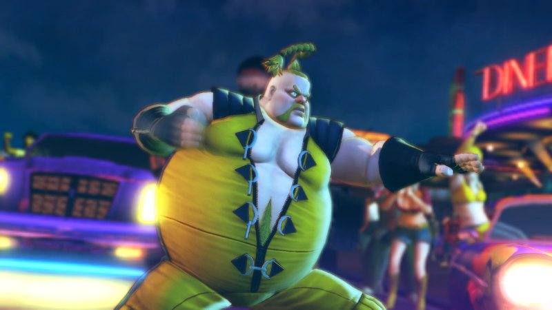 Street Fighter IV Rufus 3 Pictures - Street Fighter IV Rufus 3 Pics