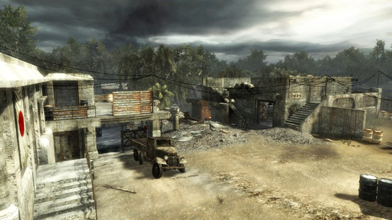 Call of Duty: World At War CoD: WaW Map Pack 1 - Knee Deep ...
