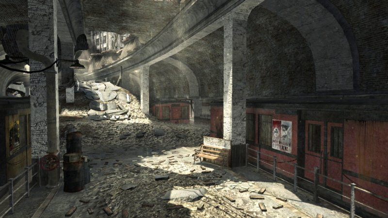 Call of Duty: World At War CoD: WaW Map Pack 1 - Station Pictures ...