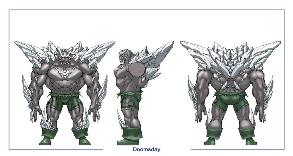 Dc Universe Online Doomsday Concept Art Pictures Dc Universe