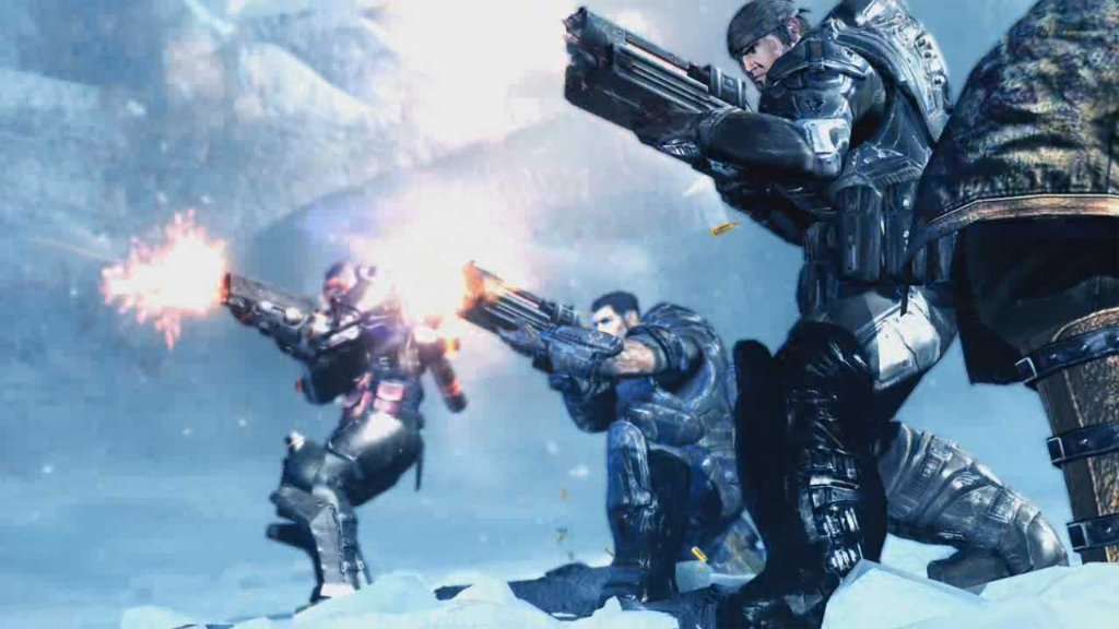 lost planet 2 lost planet 2 gears of war crossover pictures lost