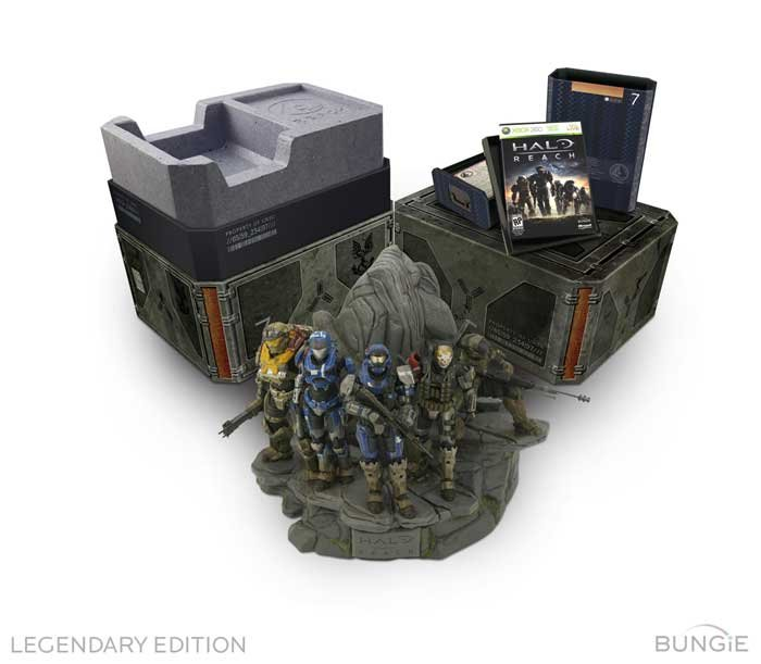 Halo Reach Legendary Edition Contents