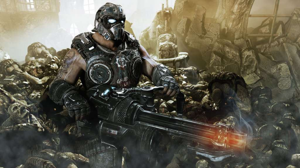 Clayton Carmine Screenshot 3 (Gears of War 3)