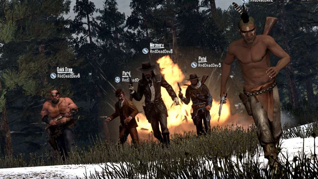 """Legends and Killers"" Screenshot"