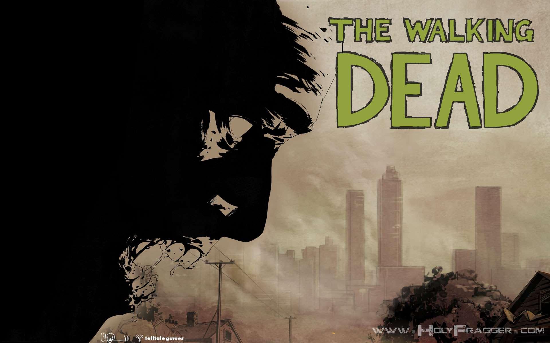 The Walking Dead The Walking Dead Video Game Wallpaper 1 Wallpaper