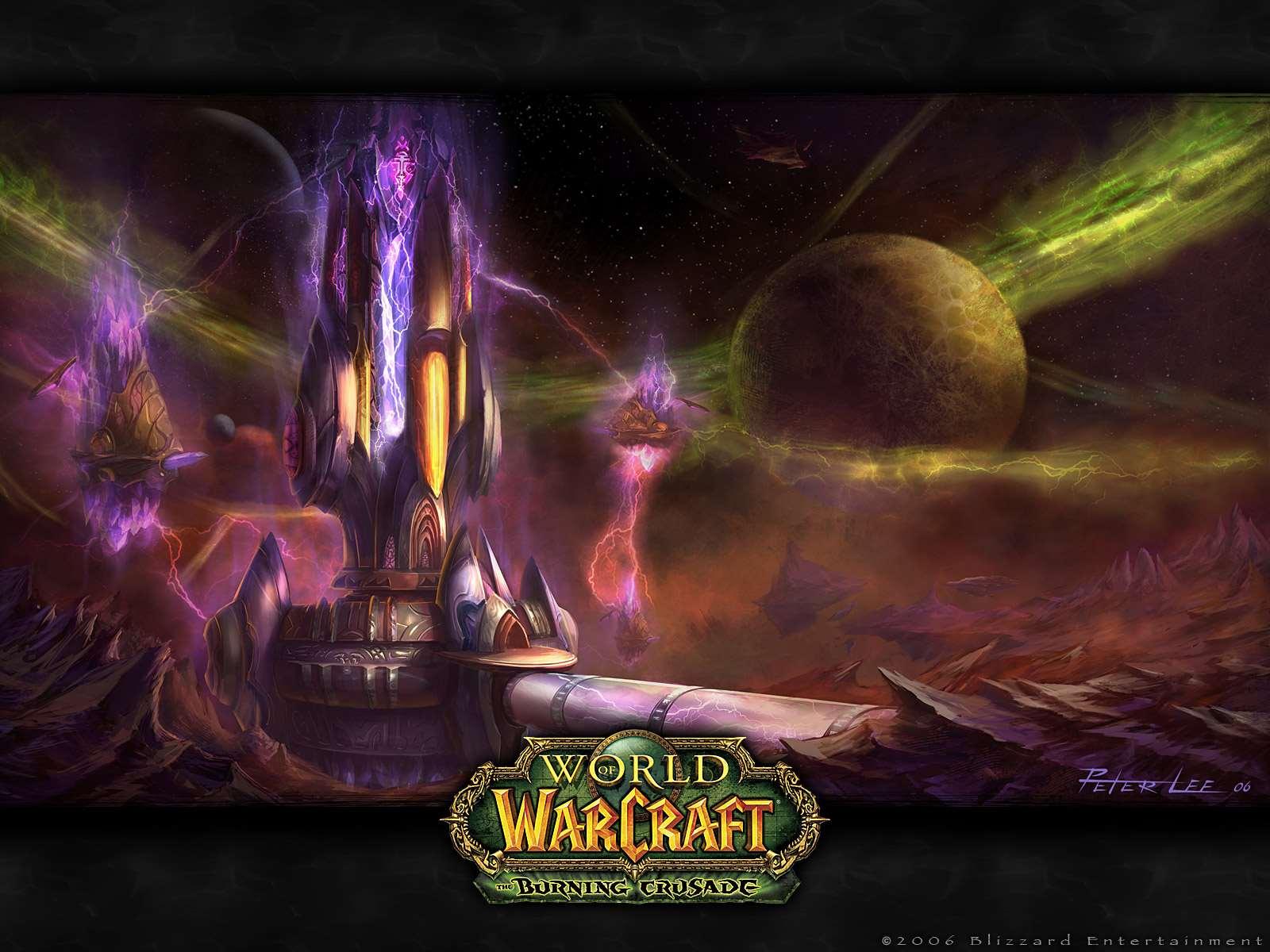 World Of Warcraft Official Wow Burning Crusade Wallpaper