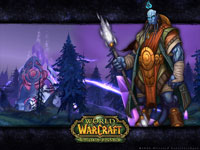 Official WoW - Burning Crusade Wallpaper: Draenei