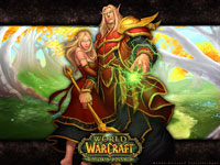 Official WoW - Burning Crusade Wallpaper: Blood Elves