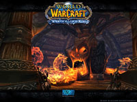 Official WoW - Wrath of the Witch King Wallpaper: Utgarde Keep
