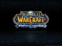 Official WoW - Wrath of the Witch King Wallpaper: Logo