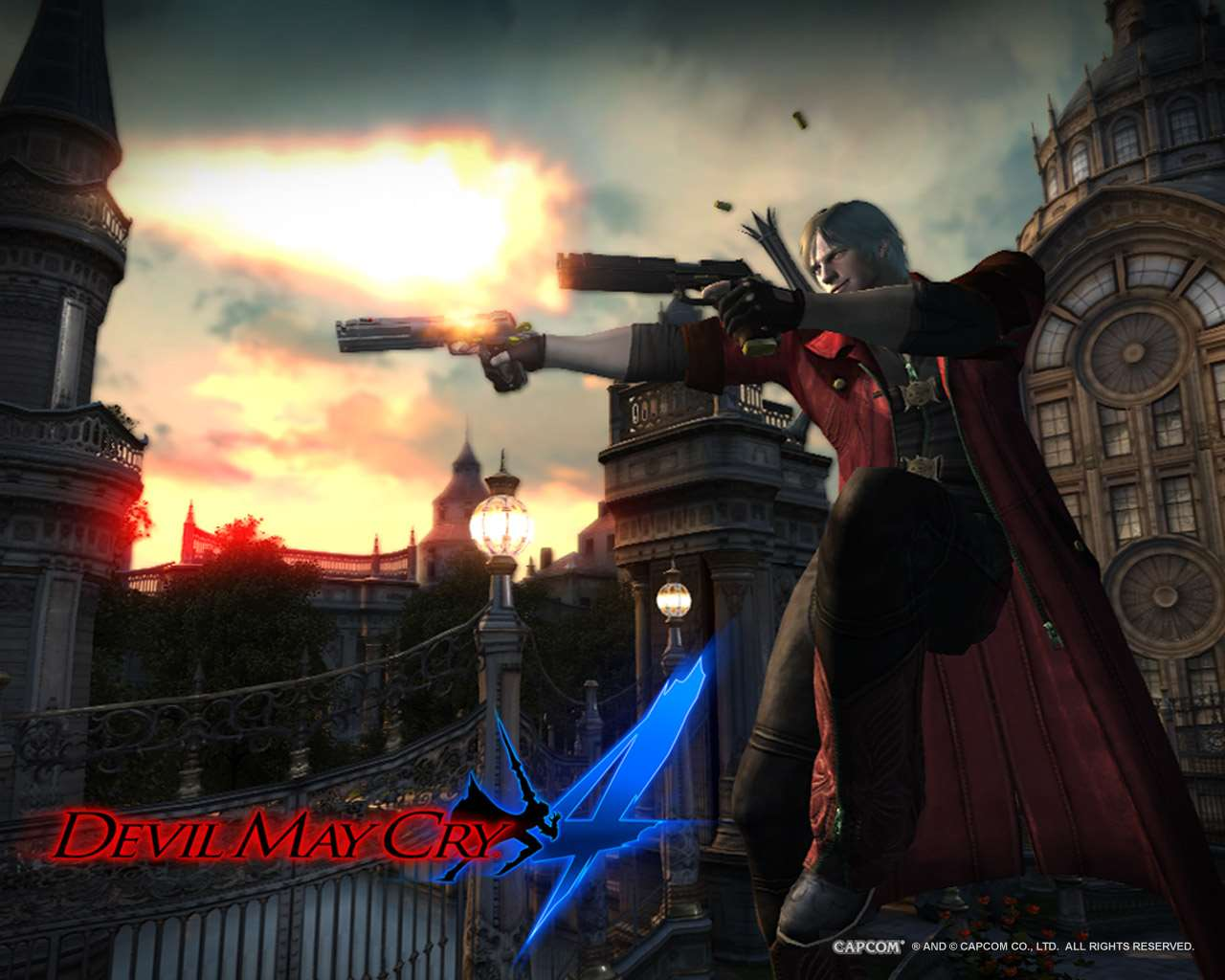 Devil May Cry 4 Official Devil May Cry 4 Wallpaper 1 Wallpaper