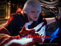 Official Devil May Cry 4 Wallpaper 4